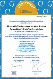 certyfikat LO 2